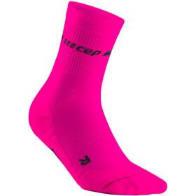 cep Neon Mid-Cut Socks Men, rosa